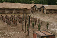Reeducation camp in Vietnam